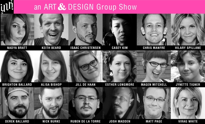 AN ART & DESIGN GROUP SHOW
